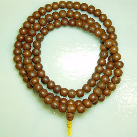 Phoenix Eye Bodhi Seed (dark), 108ct 12mm Mala
