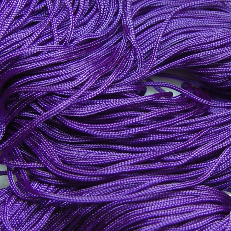 Purple Braided Nylon, Chinese Knotting Cord